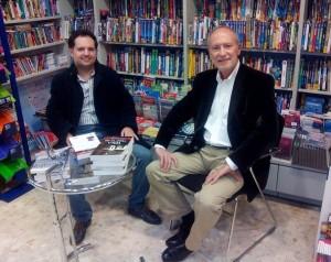 Firma con Guillermo Blanes en Málaga. 27-11-14